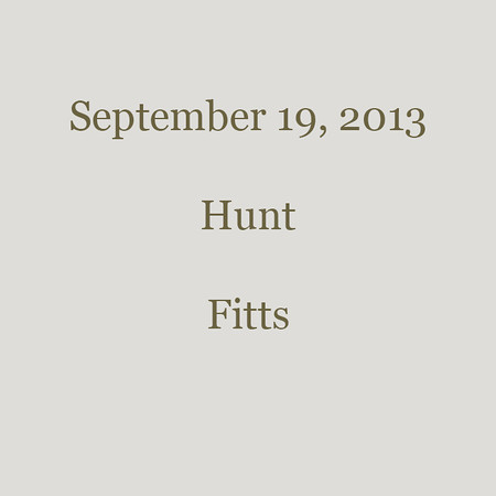 0074 - 2013-9-19 - Hunt - Fitts
