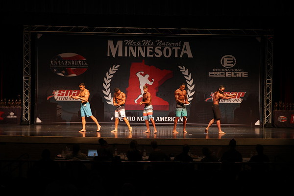 MEN'S PHYSIQUE OPEN OVERALL