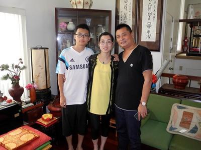 Mr./Mrs. Liu & Son's San Diego Visit, 8/9/15