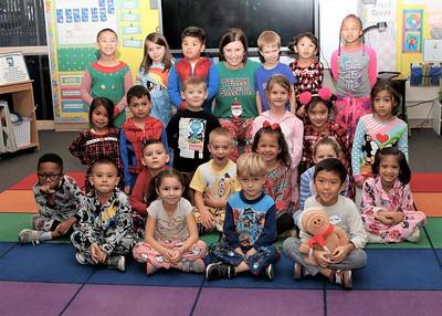 Mrs. Bague's kindergarteners