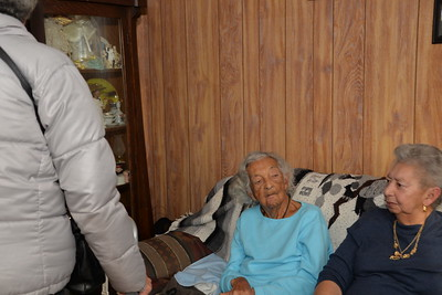 Mrs. Mary C. Mendes 105th birthday