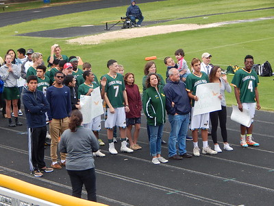 Mrs. Wolfe's assorted senior day pictures