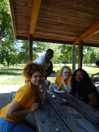 Mrs. Wolfe's senior picnic pictures