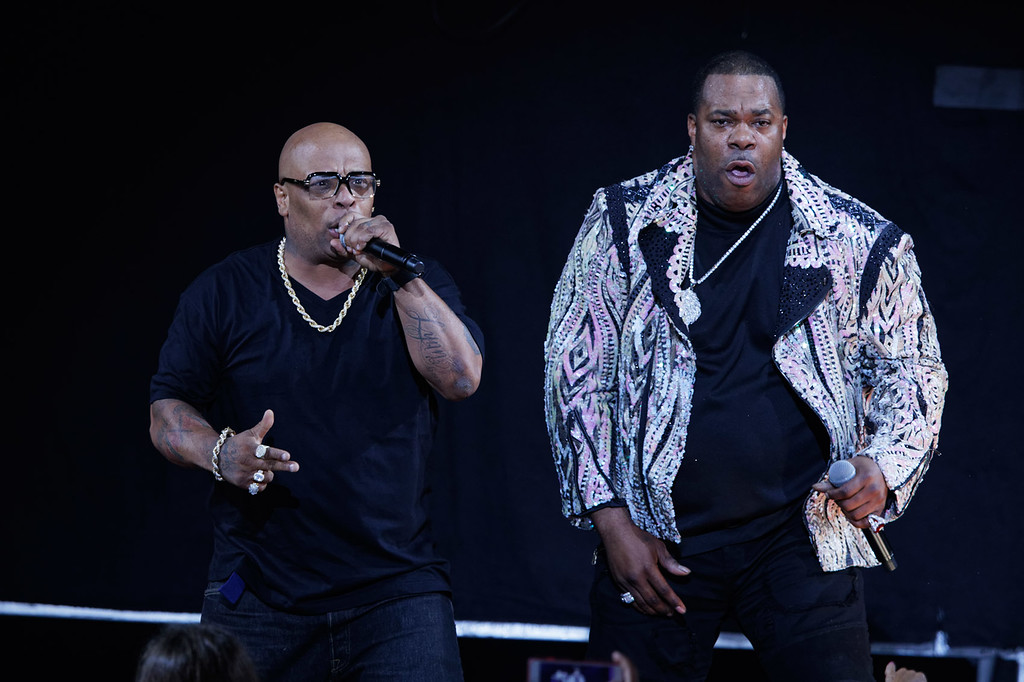 . Busta Rhymes  live at MI. Lotto. on 7-20-18.  Photo credit: Ken Settle