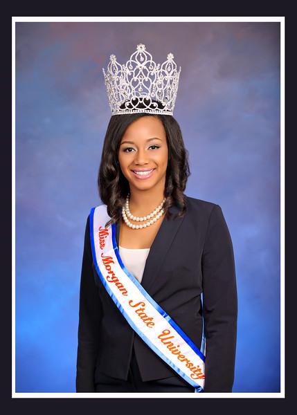 Miss Morgan State University 2014 2015 Jasmine L  Garrett_wb