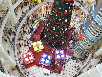 Christmas at KLCC
