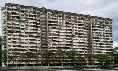 Old flats, Cheras.