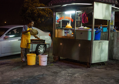 Satay Man in Cheras