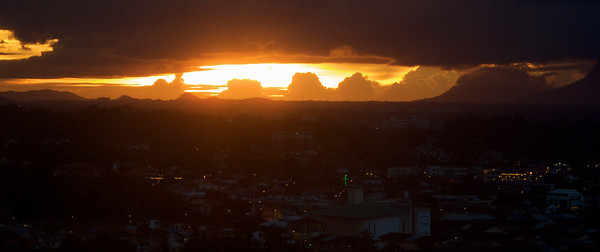 Kuching Sunset