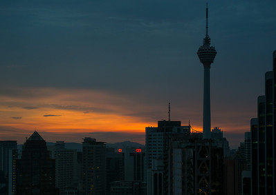 KL sunset