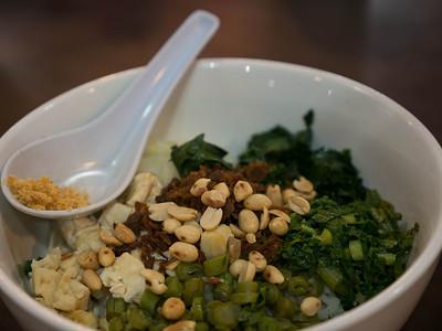 "Vegetarian ""Lei Cha"", a Hakka cuisine"