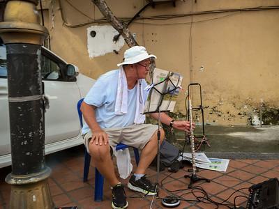 Street Performer, JB