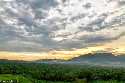 Sunset over Kulai