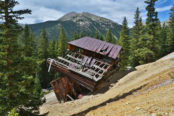 Mt Antero,St Elmo, Hancock Mine