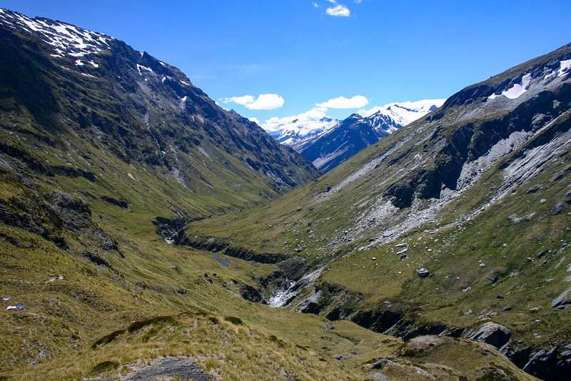 West Matukituki - Cascade Saddle - Upper Dart - Rees Valley Crossover (February 2007)