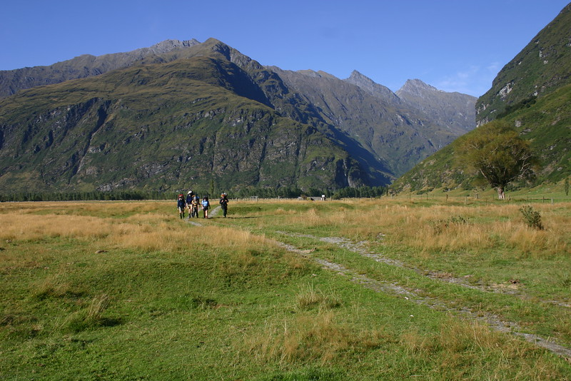 OTMC Bushcraft 2009 - East Matukituki Valley - Aspiring Flat