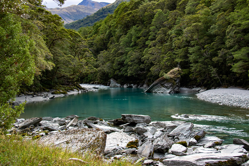 Pool on the East Matukituki River
