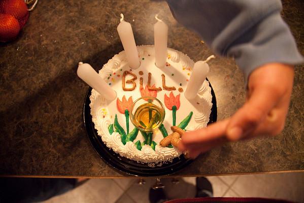 Bill's birthday at Rob and Dawn's