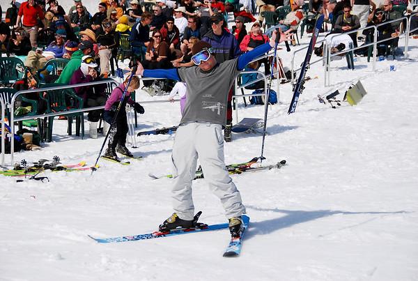 Last weekend of the ski season at Mt. Baker, April 2008
