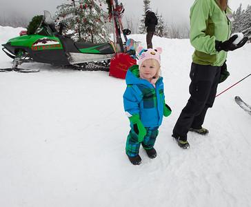 Mt. Baker Ski Area Santa, Dec. 2012