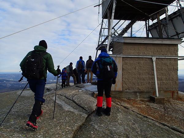 Mt. Cardigan Winter Hike