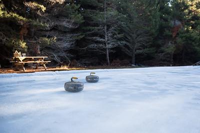 Curling  Rink - in season - Mt Cook Lakeside Retreat