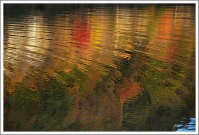 Reflections on Lake Sai