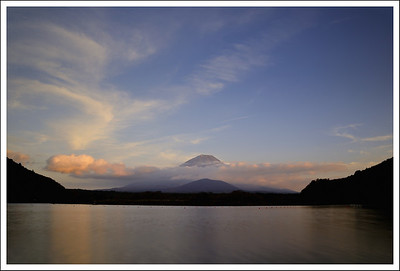 Long exposure of Lake Shojin