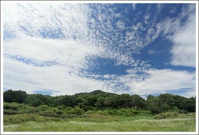Lake Motosuko, looking away from the lake