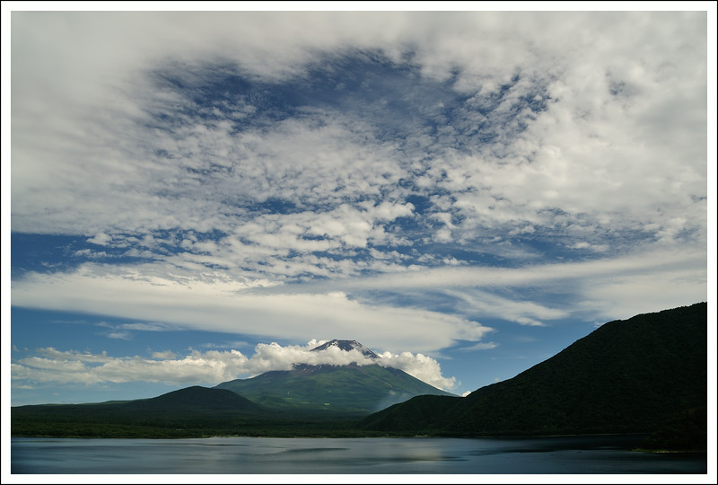 Mt Fuji from Lake Motosuko