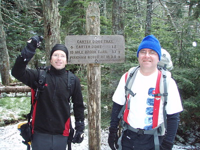 After a while we connected with the Appalachian Trail and started the trek up to Mt Hight.