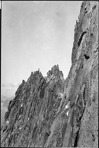 From Route of decent on Nautillon cliff of Grefon  -  Double Picture ( Upper)