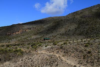Leaving Barranco camp (3,983 m)