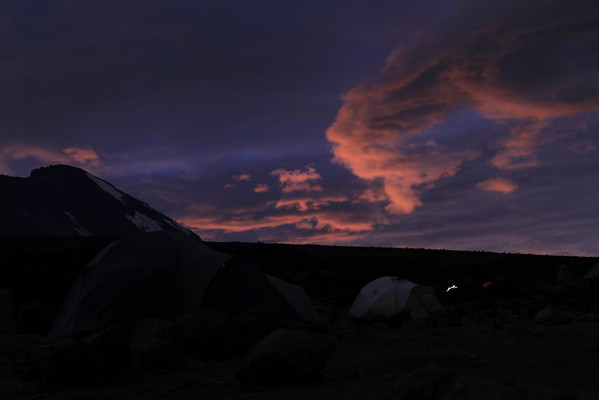Early sunrise...