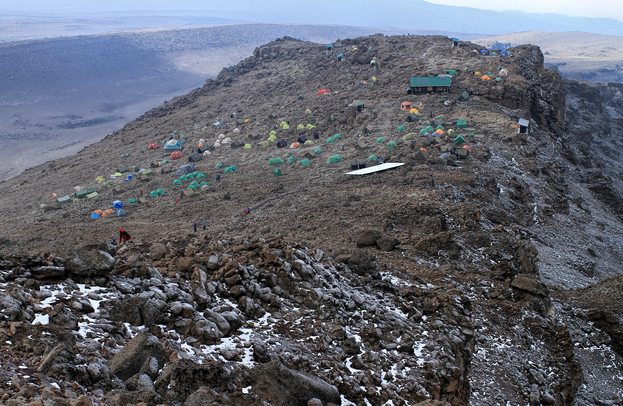 Back to Barafu camp (4,600 m)