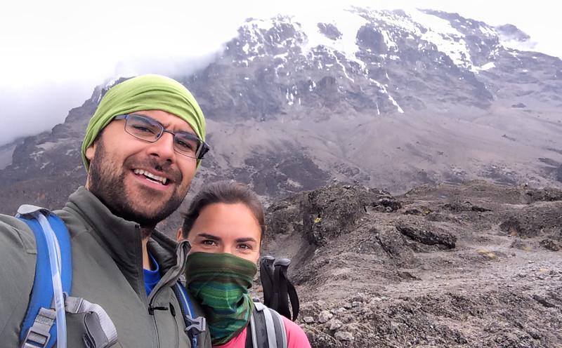 Mountain selfie :)