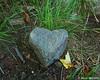 A random heart shaped rock along the Red Spot Trail