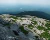 Looking down towards Bald Rock