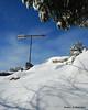 The weathervane on Monte Rosa