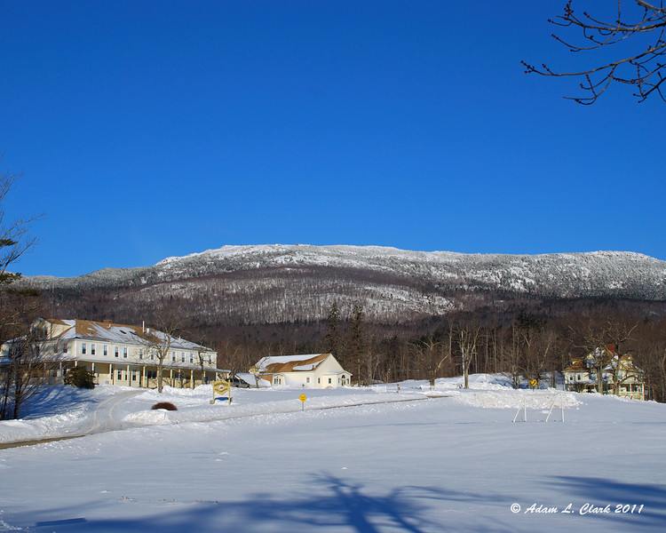 Monadnock Bible Conference just before the park headquarters