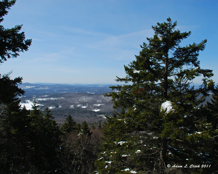 One of a few views to the Southwest on the Marian Trail