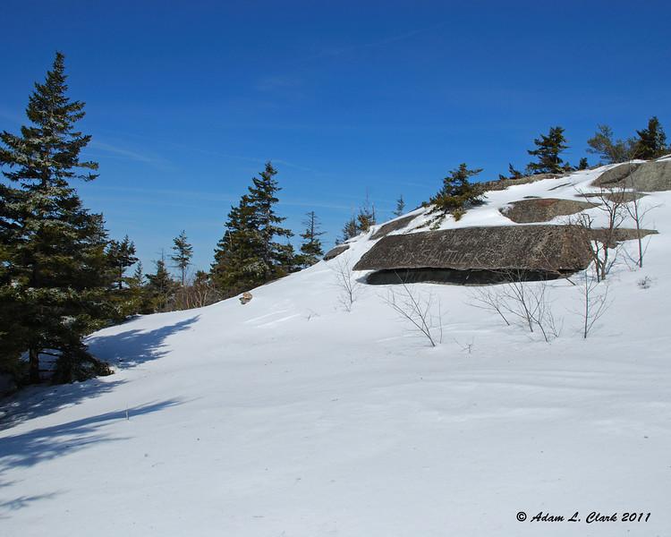 Nearing the Marlboro Trail