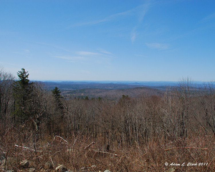 View from the outlook at the Old Halfway House Site