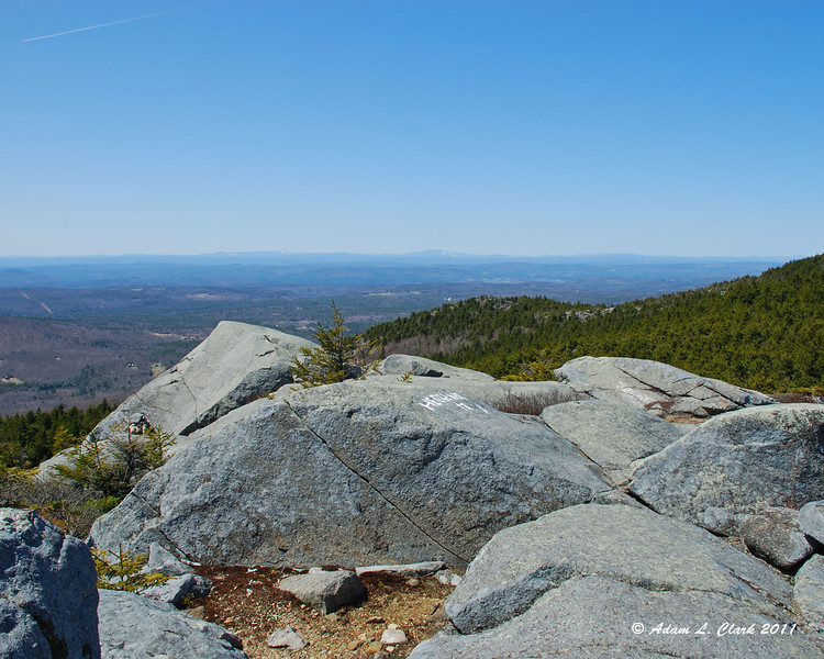 View West from Bald Rock