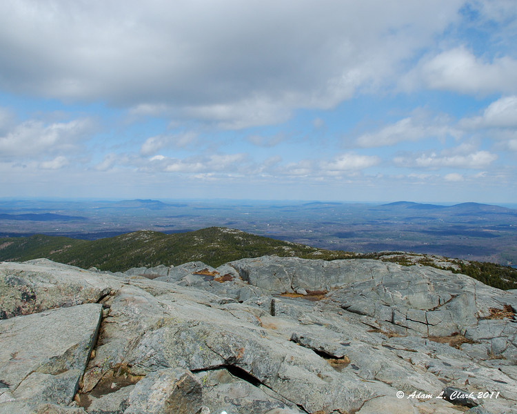 View Northeast from the summit