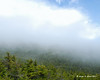 A bank of clouds over Dingle Dell between Bald Rock and White Cross Trail area