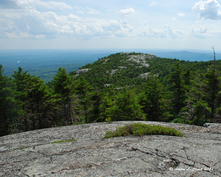 View to Bald Rock from Inspiration Rock