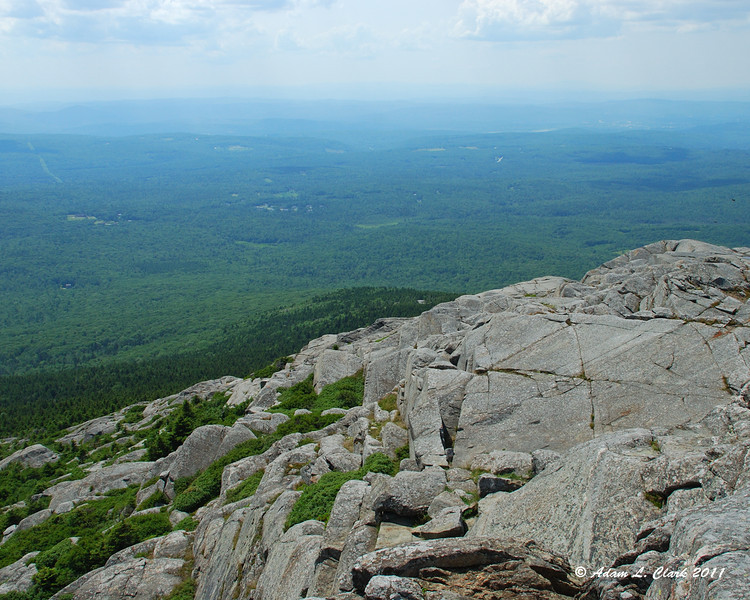 Looking Southwest from the summit