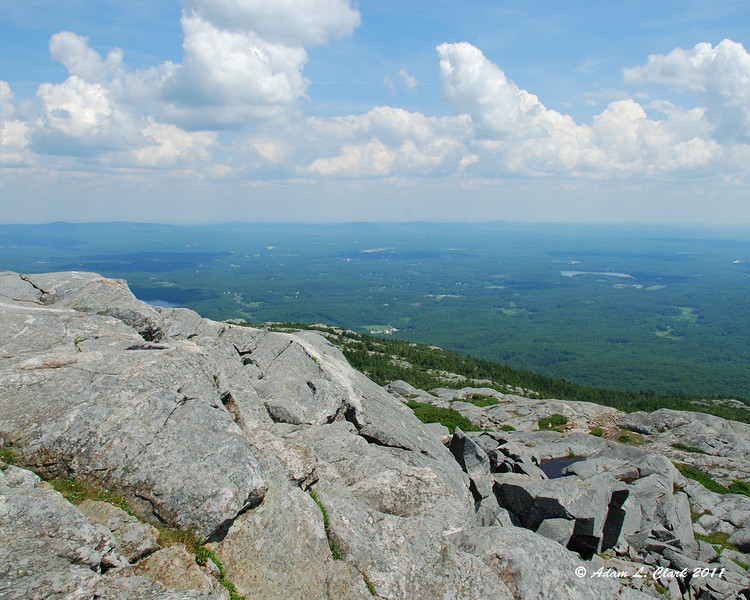 Looking East from the summit