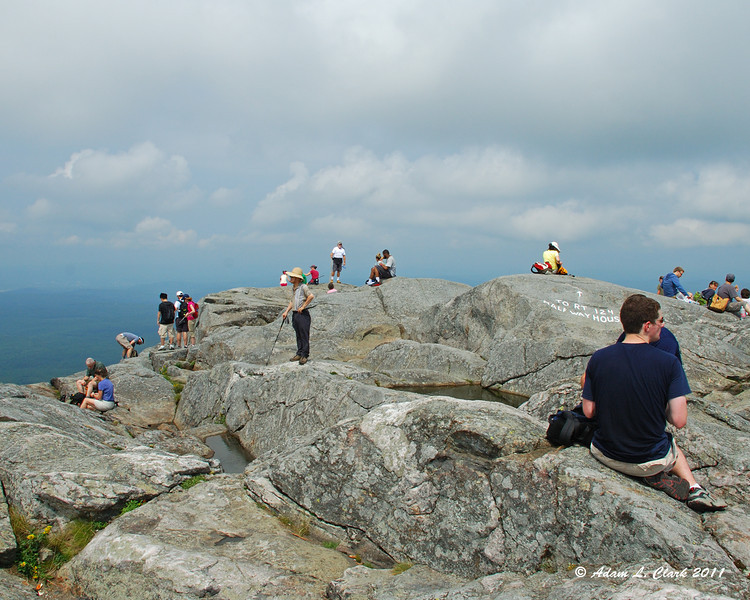 Other hikers at the summit